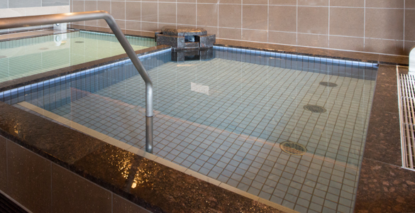 極冷水風呂